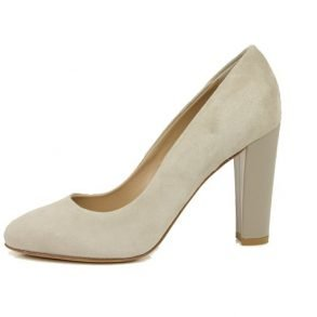 PinC pump taupe suede