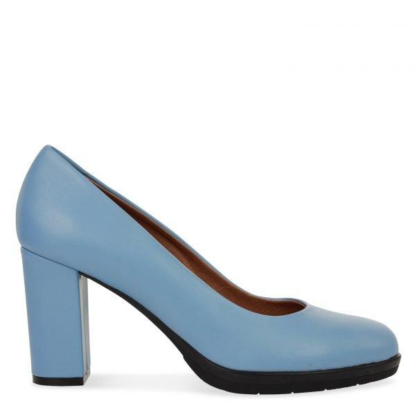 licht blauwe pump