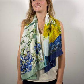 zijden sjaal van gogh