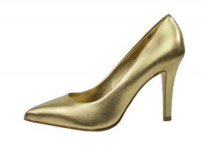 Gouden pumps