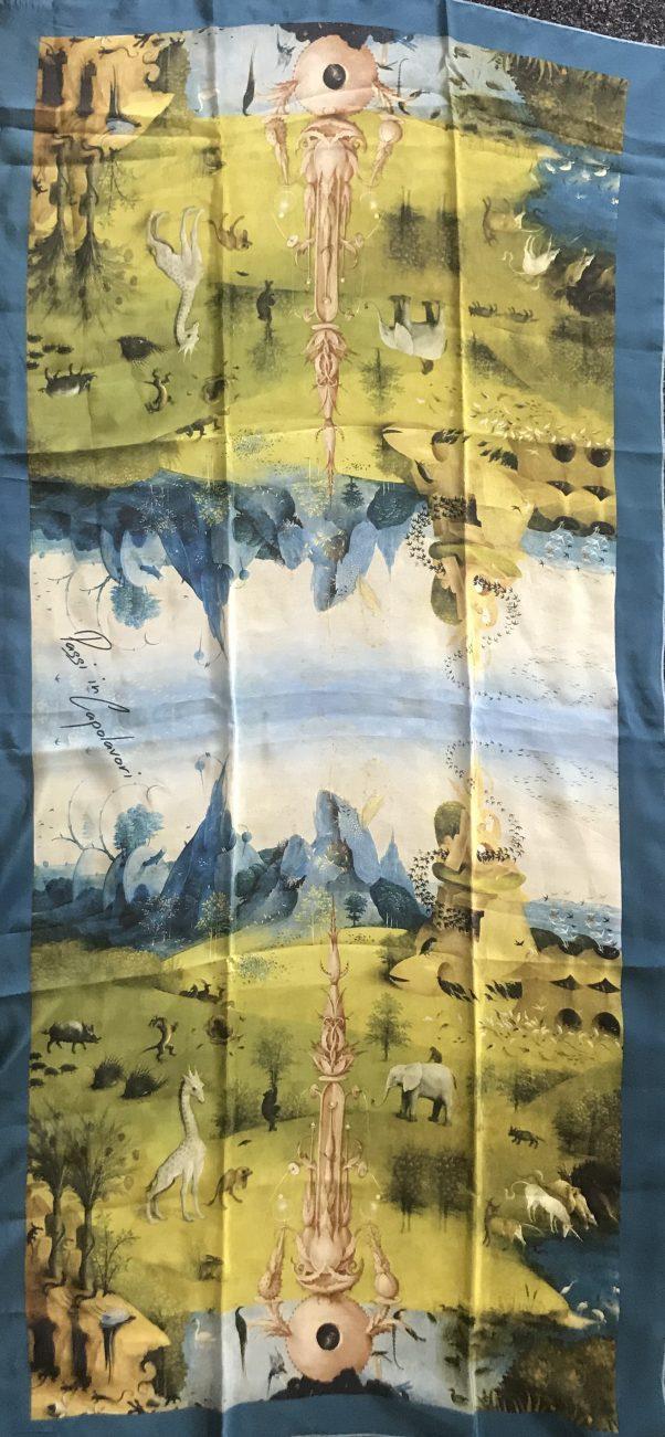 zijde sjaal bosch